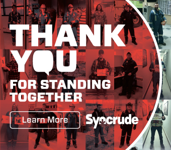 Syncrude Thank You - May 2020