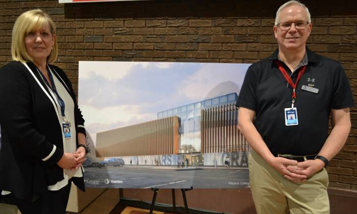 Keyano Hosts First Open House for the Arts Centre Project