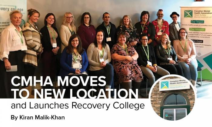 CMHA Moves to New Location and Launches Recovery College