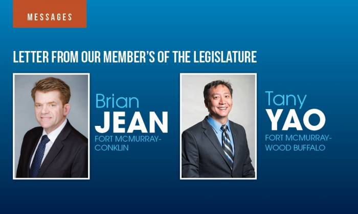 Letter from Our Members of the Legislature