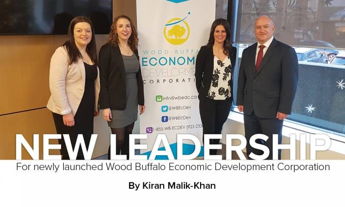 New Leadership For newly launched Wood Buffalo Economic Development Corporation