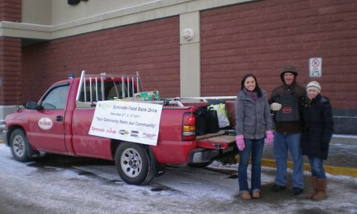The Syncrude Food Drive at 25: A Community Success Story